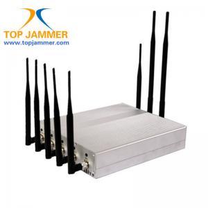 China 8 Bands Meeting Room RF Signal Jammer Blocker GSM 3G 4G LTE Wifi GPS Lojack Radio Mobile on sale