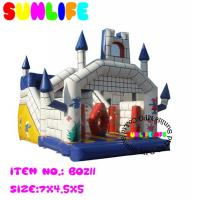 Quality Amusement Park Jumping Castle Inflatable Bouncy Slide For Children for sale