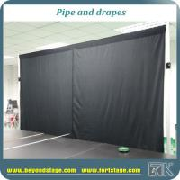 Quality custom pipe and drape adjustable backdrop stands curtain poles for sale for sale