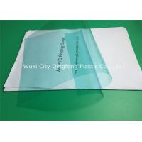 China 0.14mm/140 Micron Green PVC Binding Covers 210×297 MM For Books / Documents on sale