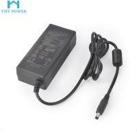 Quality 60w 2.5a 24v LED Strip Power Supply 100-240V Input With Plastic Case for sale