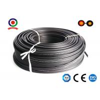 Buy cheap XLPE Jacket Flat twin core 2.5mm2 tinned Copper 1800V DC Electric Solar Cable from wholesalers
