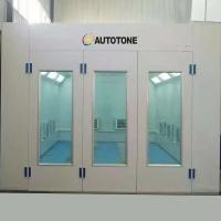 Quality Economic Paint Spray Booth Autotone brand, Yellow Red White Light Blue Painting Hot Turbo Power Room Air Baking Fan for sale