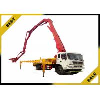 Quality High Performance Truck Mounted Concrete Pump Open Hydraulic Boom Overload Protection for sale