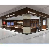 Quality New Luxury 3d Rendering Jewellery Shops Interior Showcase Design for sale