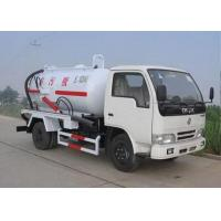 Quality 6.5L Energy Saving Special Purpose Vehicles , Suction Truck For Noncorrosive Mucus Liquid for sale