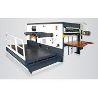 Quality 4000 × 2300 × 2300mm Industrial Die Cutting MachineFor Carton Boxes Easy To Operate for sale