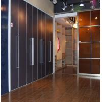 Interior bi folding doors for wardrobe custom aluminum bi for Custom made internal bifold doors