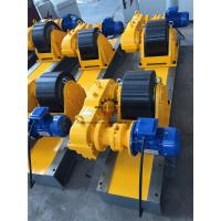Quality Heat Exchanger Production 20T Tank Turning Rolls Heavy Duty Gearbox Double Driving for sale