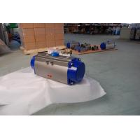Buy cheap Motores Pneumatic Rack And Pinion Actuator Control Valves ISO5211 from wholesalers