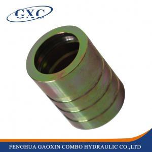 00401 Carbon Steel Hose Fitting Ferrules For 4SH ,R12/32 Hose
