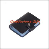Quality promotion gift Pu leather Business Card Holder for sale