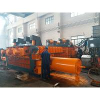 Quality Automatic Control Power 180kW Scrap Baler Machine , Hydraulic Baling Press Machine for sale
