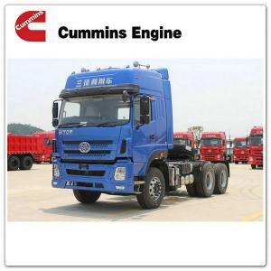 China LHD/RHD Cummins 375HP 6x4 off-road tractor truck for sale STQ4257L on sale