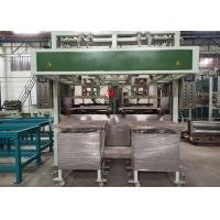 Quality Auto Paper Pulp Moulding Machine Two Stations 100~150 kg/h Capacity for sale