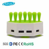 Phone Tablet Multiple USB Charger Station , 4 Ports USB Desktop Charger Station