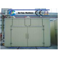 Quality Easy Operated Sandblasting Room Reappearing Metal Color Function Compact Design for sale