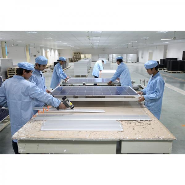 China Solar Panel Black Anodized Aluminum Frame 140w Of