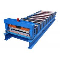 Quality Energy Saving Corrugated Roof Sheet Making Machine For Roof Panel / Color Steel Tile for sale