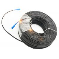 Buy cheap 1 / 2 / 4 Core Outdoor Indoor Fiber Optic Patch Cables FTTH Drop Cable from wholesalers