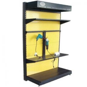 China Easy to assemble tools metal display rack tools shelf tool racks on sale