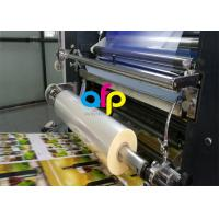 Quality Water Based Laminate Cold Laminating Film , Multiple Extrusion BOPP Plastic Film for sale