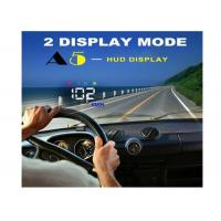3.5 Inch Audi A5 GPS HUD Heads Up Car Display Two Display Mode Multi Color Auto Power On / Off