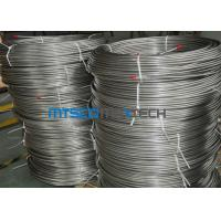EN10216 - 5 Seamless Coiled Stainless Tube Bright Annealed / Pickled Surface