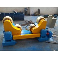 Quality Pipe Vessel Welding Rotator With AC Frequency Converter 20T GZ-20 PU rollers for sale