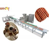 Quality Full Auto Meat Strip Traying System Jerkey Beef Chicken Snack Sticks Making for sale
