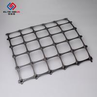 Quality 3.95X50m Polypropylene Geogrid 30X30kn / Biaxial Integral Geogrid For Soil Retainer for sale