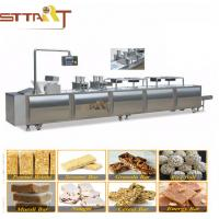 Quality Mixer Chikki Cereal Bar Peanut Candy Making Machine With WEG Or Siemens Motor for sale