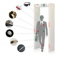Buy cheap Easy Assembly Body Scanner Metal Detector , Walk Through Scanner 33 Detection from wholesalers