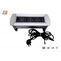 Quality Aluminum Desk Cable Outlet Table Outlet With USB VGA AC Power for sale