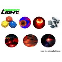 Quality Multiple Colors LED Warning Light Magnetic Charging For Traffic / Vehicle Transportation for sale