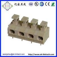 Quality Zhejiang factory Pitch5.0mm Screwless/Spring Clamp PCB Terminal Blocks for sale