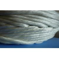 Quality Braided stove gasket rope , Pipe insulation Glass Fiber Twisted Rope for sale
