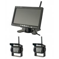 Quality 400cd/m2 Brightness Vehicle Reversing Systems 1024x600 Wireless Monitor Camera for sale