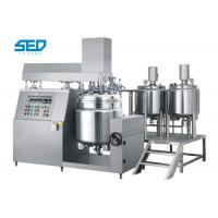 Quality High Capacity Vacuum Emulsifying Machine Button Controlled For Ointment / Cream / Lotion for sale