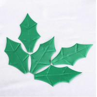 Quality Satin Christmas Party Crafts Green Elegant Christmas Decorations Outdoors for sale