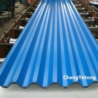 Quality High Weatherability Color Coated Roofing Sheets Weight ≤8T With PVDF Coating for sale
