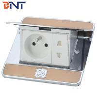Quality zinc alloy  material with french power floor pop up socket for sale