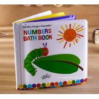 Quality Number Learning Education Baby Bath Book Soft EVA Bath Book for Children Bath Good Time for sale