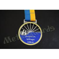 Quality Village 10k Finisher Medals , Custom Diecast Medals For Running Events for sale