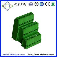 Quality Zhejiang factory OEM PCB Rising Clamp Terminal Blocks Pitch5.08mm for sale