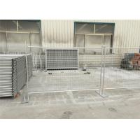 Quality Professional Temp Site Fencing Galvanized Temporary Fence Q235 Steel Materials for sale