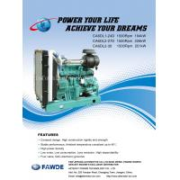 Quality 176KW-251KW 6DL Series of FAW Diesel Engine for sale