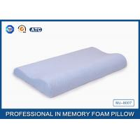 Buy Light Blue Breathable Child Contour Therapeutic Memory Foam Pillow For Health Care at wholesale prices