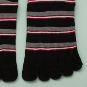 China Custom Size Nylon Short Sports Ankle Socks With Toe Socks Type on sale