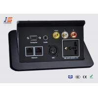 Quality Pop Up Aluminum Conference Table  Connection Box Table Top Socket RJ45 Outlet for sale